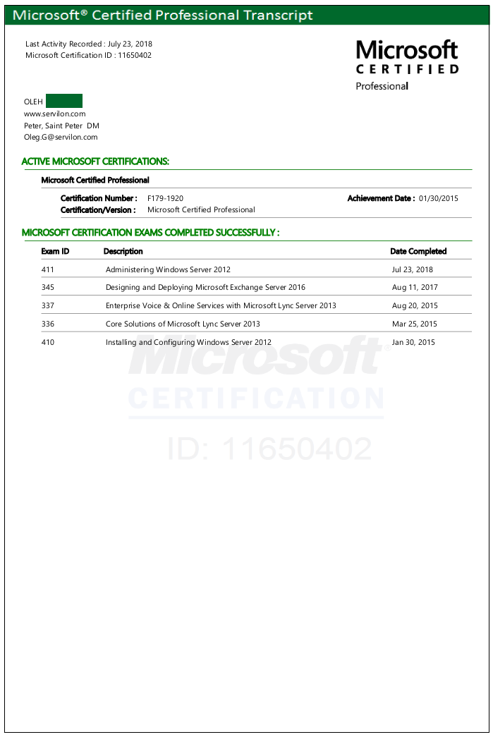 Microsoft Certification Exam Hardpoint It Support That You Can Trust